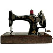 She sewed all our clothes on a Singer Sewing machine.