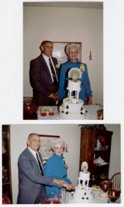 50th Anniversary Cake Cutting